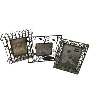 Metal photo frame lot